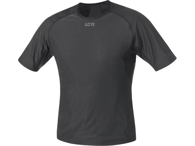 GORE WEAR M Gore Windstopper Baselayer Shirt Heren, black